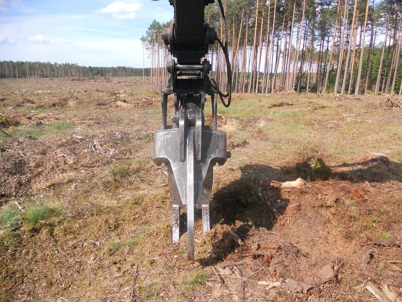 Equipments pour pelle excavatrice mini pelle tractopelle - Destructeur de souche ...